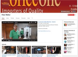 coffee machine youtube channel