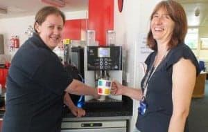 staff coffee machine