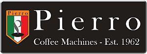 Commercial Coffee Machine Pierro Silver 2 Group espresso machine