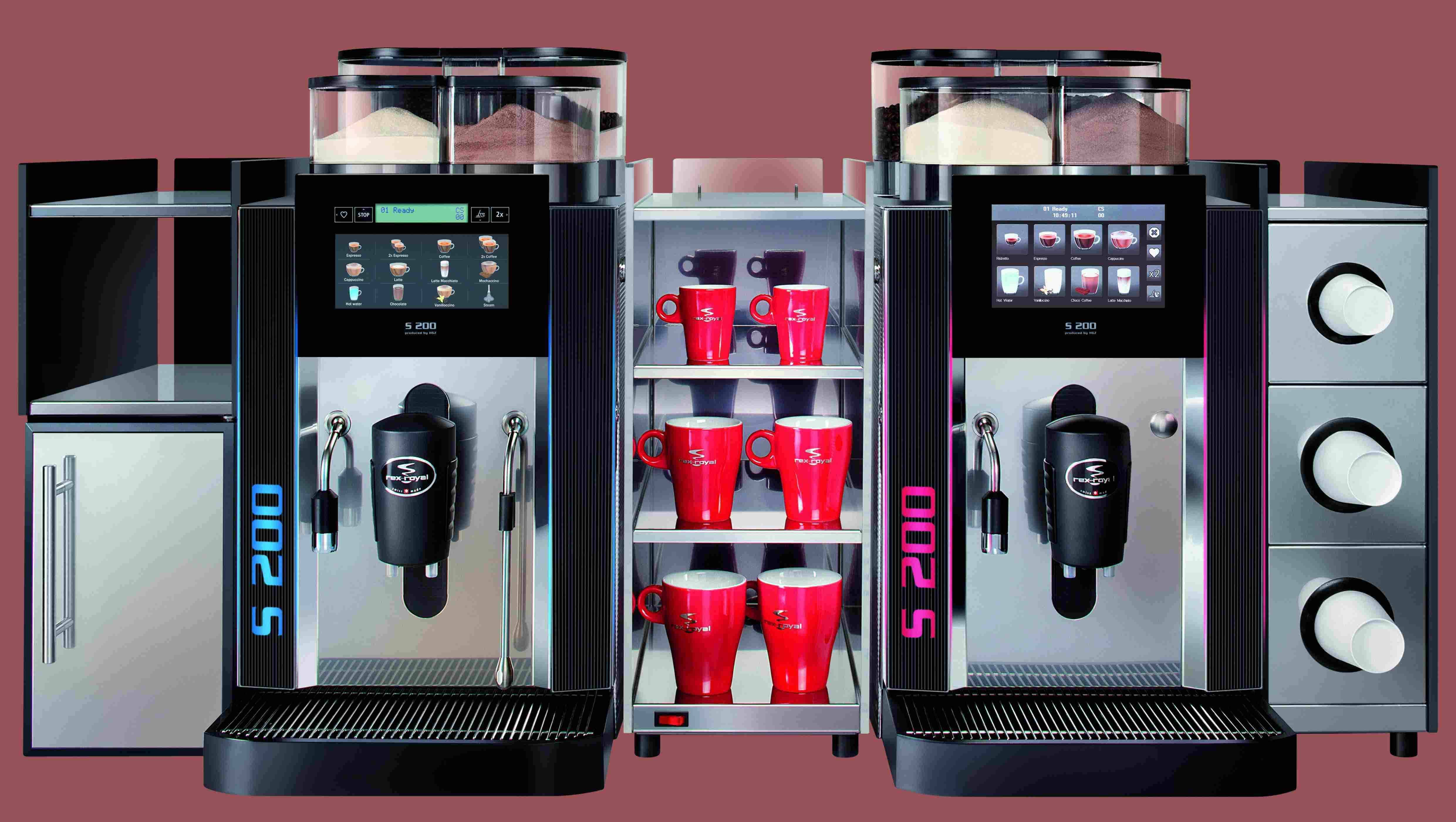 Automatic Bean To Cup Coffee Machine supplier