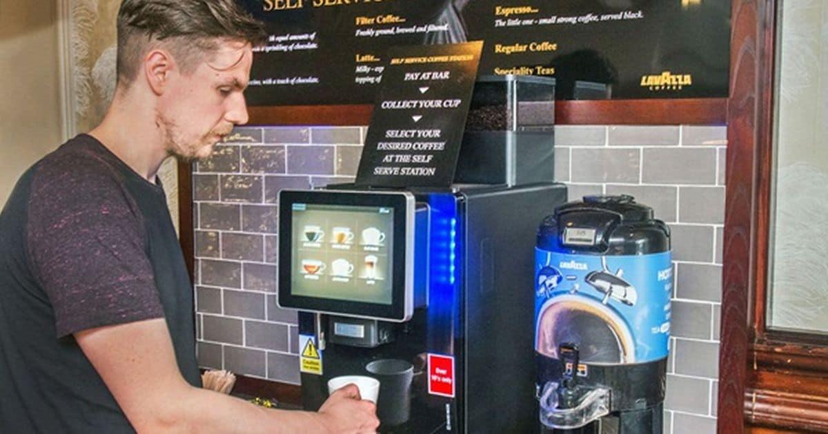 self serve automatic coffee machines